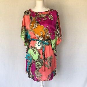MSK Flutter sleeve dress